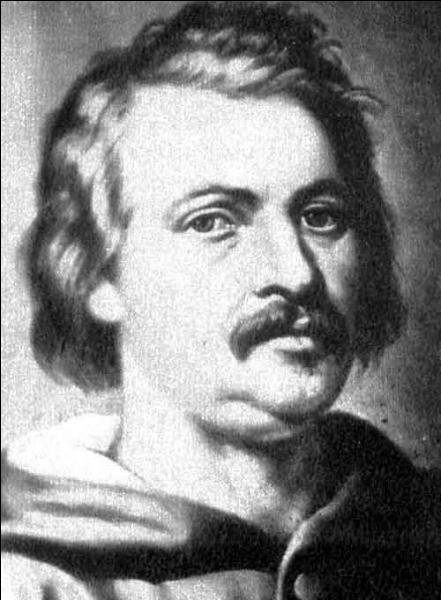 Il est né à Tours en 1799, on lui doit Le Père Goriot, Le Lys dans la vallée... Qui est-ce ?
