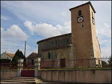 Voici l'église Saint-Clément du village Meurthe-et-Mosellan de Xammes. Il se situe en région ...