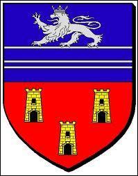 Pour commencer, je vous présente le blason de la commune bas-normande de Flamanville. Elle se situe dans le département N° ... (Lisez bien la question)