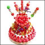 Peut-on faire des gâteaux de bonbons ?