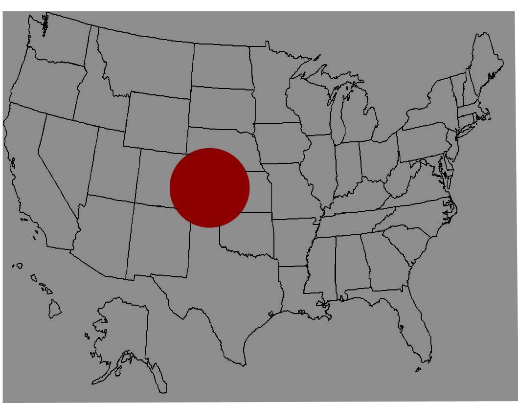 Repérer des villes sur la carte des Etats-Unis