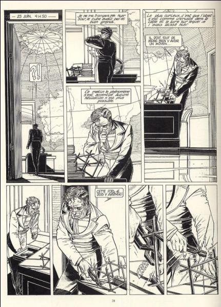 D'où vient la fièvre dans une bande dessinée de François Schuiten et Benoît Peteers ? (cycle des cités obscures)