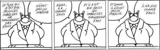 Quel humoriste a écrit :  Tous les gens qui s'appellent François sont des imbéciles, sauf François Cavanna et François Châtelet.   ?