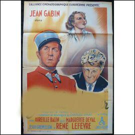 A quel film de Jean Grémillon correspond cette ancienne affiche ?
