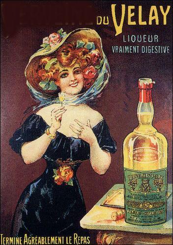Elle provient du Velay comme on le voit sur l'affiche, quelle est cette liqueur ?