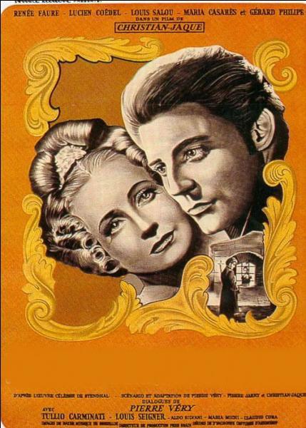 Quel film de Christian Jacque est représenté sur cette affiche ?