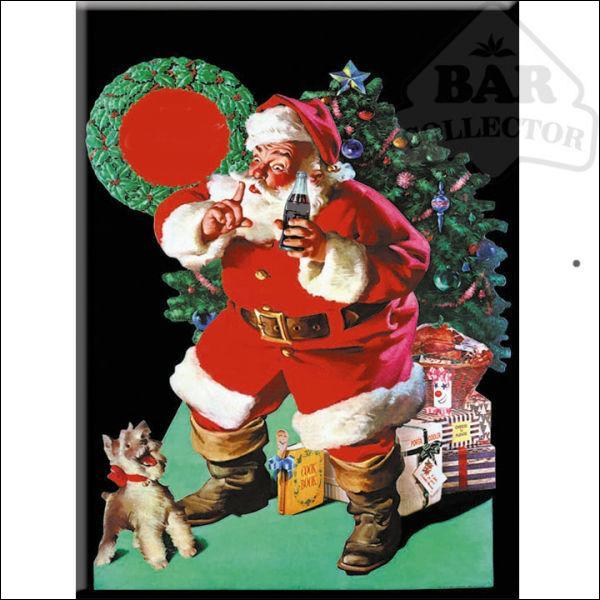 Quelle boisson le Père-Noël vous incite-t-il à boire, sur cette affiche ?