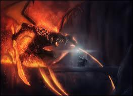 Dans les mines de la Moria, Gandalf affronte sur le pont de Khazad Dûm un Balrog. Quelle est cette créature ?
