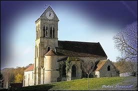 Voici l'église de la commune Axonaise (02) de Bonnesvalyn. Elle se situe en région ...