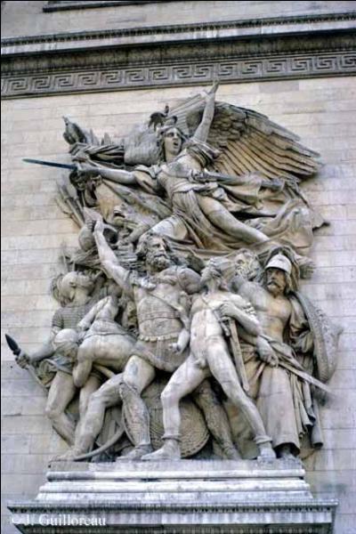 Quel est le nom de ce sculpteur d'origine bourguignonne, auteur d'une fameuse  Marseillaise  ?