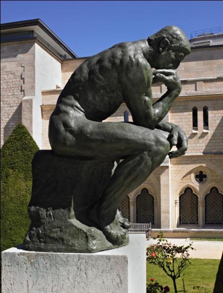 On lui doit  Le penseur  le plus célèbre de la sculpture dans le monde. Qui est-ce ?