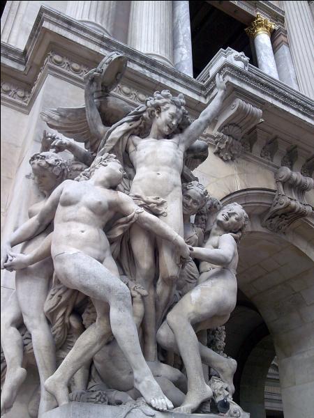 On lui doit le groupe de  La danse  de l'Opéra Garnier de Paris, qui fit un beau scandale à l'époque. Qui est-ce ?