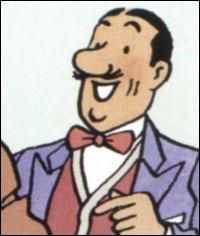 Dans quelle bande dessinée peut-on voir le personnage de Séraphin Lampion ?