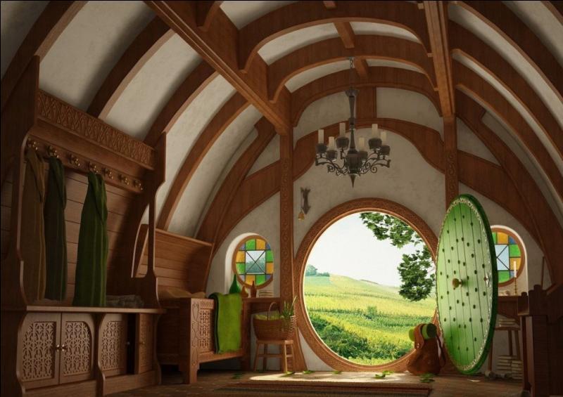 De quand date le vin qu'offre Bilbon à Gandalf à son arrivée à cul-de-sac ?