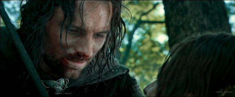 Que réplique Aragorn ?