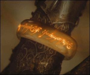 Que déversa Sauron dans l'anneau unique qu'il créa ?
