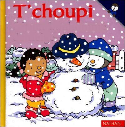 Mais que fait T'Choupi sur ce livre ?