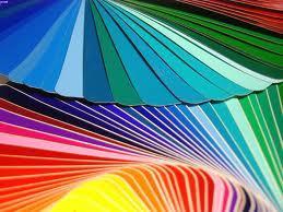 Des couleurs en vrac