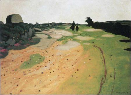 Qui a peint Paysage de Lande ?