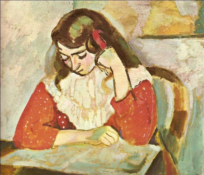 Qui a peint La lectrice ?