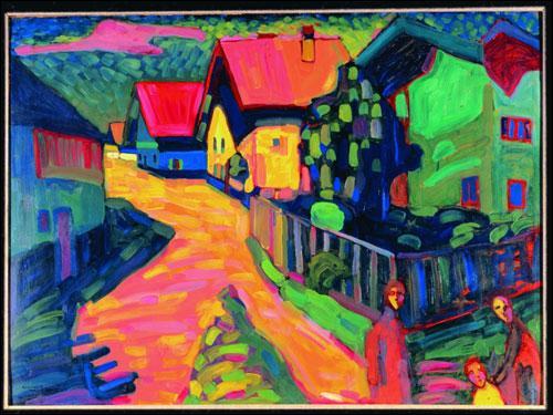 Qui a peint Murnau ?