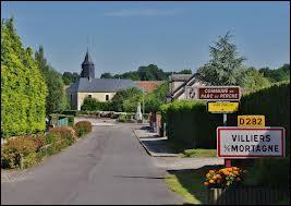 Nous entrons dans la commune bas-normande de Villiers-sous-Mortagne. Nous sommes donc dans le département n° ...