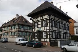 Je me rends dans la commune de Breuschwickersheim. Je serai donc en région ...