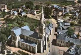 Nous survolons la commune de Fégréac, dans le 44. Nous sommes donc dans le ciel de la région ...