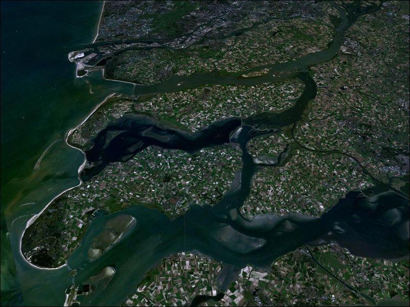 Où la Zélande, une importante zone insulaire de 2 900 km², est-elle localisée ?