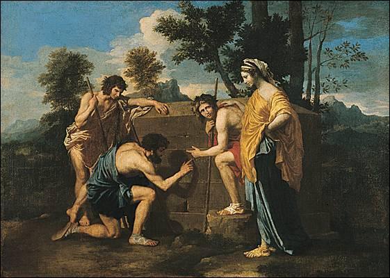 Qui est ce peintre français fabuleux, auteur de la fameuse toile  Les bergers d'Arcadie  ?