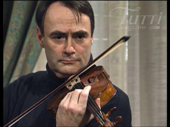 Qui est ce violoniste, fils d'un célèbre chef d'orchestre ?