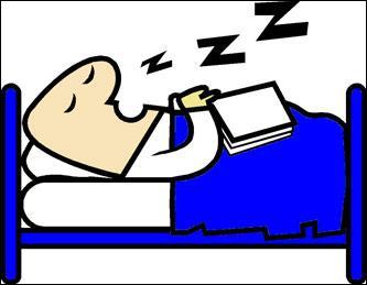 Il est très dangereux de réveiller quelqu'un qui dort .