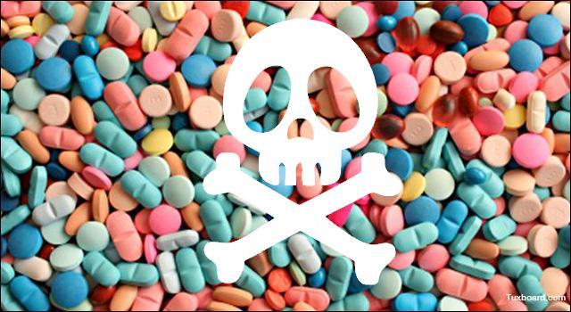 Il est très dangereux de prendre des médicaments sans raison.
