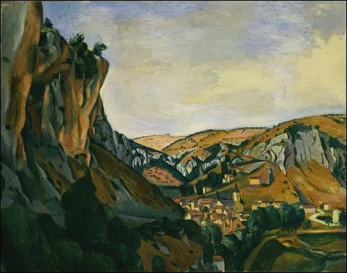 Conséquence inattendue de cette guerre interminable, quel artiste organise sa première exposition en octobre 1916 dans l'appartement du marchand de tableaux Paul Guillaume ?