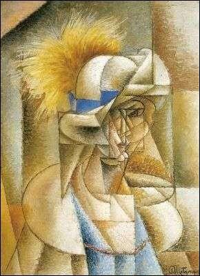 Jean Metzinger, peintre, théoricien, écrivain, critique d'art et poète français auteur en 1912 de cette toile, est né et a passé toute sa jeunesse à ...