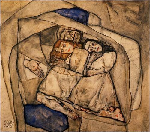 Pour quel mobile, le peintre autrichien Egon Schiele fut-il emprisonné en avril 1912 pendant près d'un mois ?