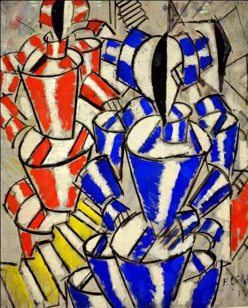 Guillaume Apollinaire se veut le principal défenseur du cubisme. De qui est cette oeuvre peinte en 1913 ?