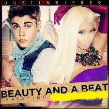 Qui chante  Beauty and a Beat  avec Justin Bieber ?