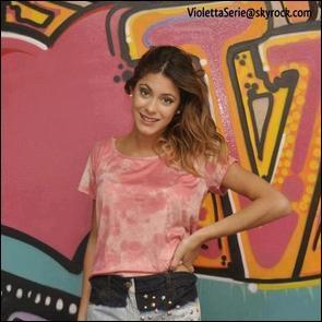 Quel est le pays préféré de Violetta ?