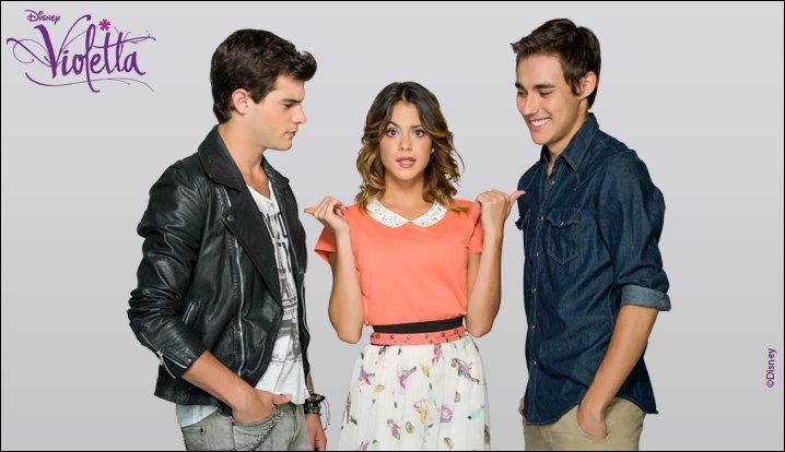 Quel garçon Violetta choisit-elle à la fin de la série ?