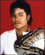 Comment s'appelle le boa constrictor de Michael ?