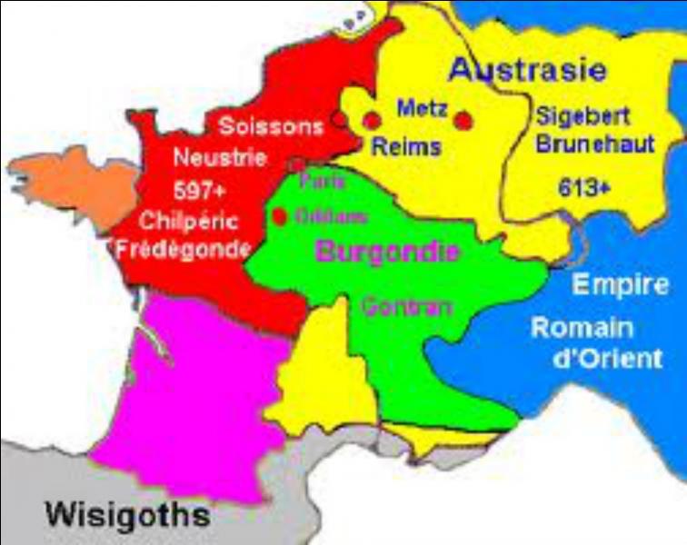 A la fin du VIe siècle, une longue rivalité accompagnée de crimes abominables opposa Brunehilde, reine d'Austrasie, à Frédégonde, reine de Neustrie. Laquelle des deux sortit vainqueur ?