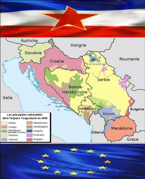 Société - Quel pays issu du démantèlement de l'ex-Yougoslavie en 1991 a rejoint l'Union européenne le 1er juillet 2013 ?