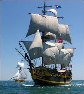 Langue française - L'expression  Baisser pavillon  trouve son origine au XVIe siècle dans la marine. Laquelle de ces expressions a la même signification ?