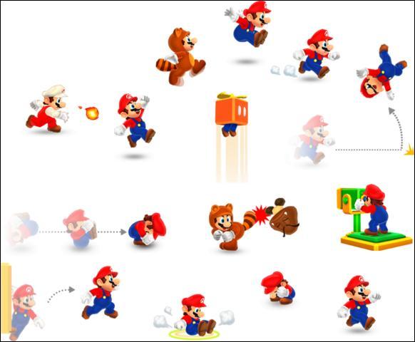 Quel est l'objet qui ne se trouve pas dans New Super Mario Bros 2 ?