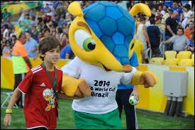 Comment s'appelle la mascotte de la Coupe du monde ?