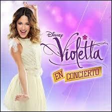 Quelles sont les dates de concert Violetta en 2014 ?