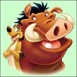 Les amis de Simba sont...
