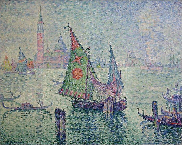 Comment s'appelle ce mouvement artistique minutieux dont Paul Signac ou encore Seurat sont très représentatifs ?