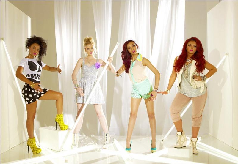 Comment s'appellent les 4 jeunes femmes du groupe ?